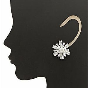 Kate Spade Silver Statement Earring
